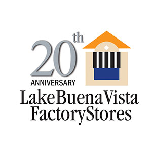 LAKE BUENA VISTA FACTORY STORES UNVEILS 20th ANNIVERSARY PLANS